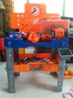 Sensational For Sale Kids Home Depot Work Bench With Power Tools Caraccident5 Cool Chair Designs And Ideas Caraccident5Info