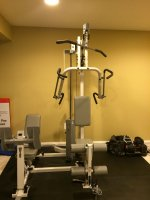 For sale sold hoist 1100 home gym w leg press reduced to $425.00