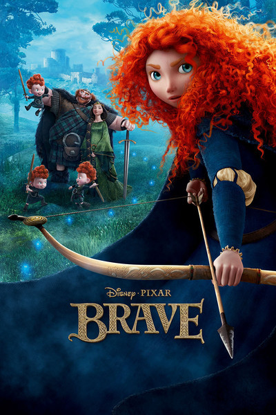 Brave - Movie Poster