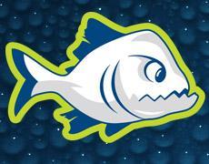 ODSL piranhas swim