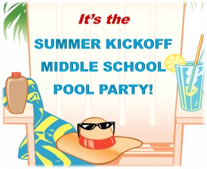 Middle School Summer Kick Off Party @ Southern Walk Pool | Ashburn | Virginia | United States