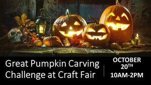 Great Pumpkin Carving Challenge at the Broadlands Craft Fair @ Nature Center Lot | Broadlands | Virginia | United States