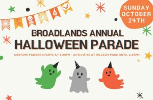 Kids Halloween Parade @ starts at Community Center
